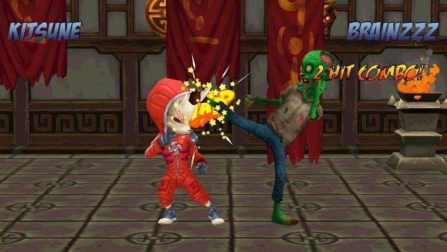 Ninja Vs Zombies 3D Fight apk screenshot