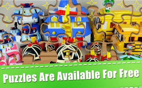 Puzzle Jigsaw Robocar Kids screenshot 4