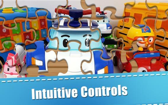 Puzzle Jigsaw Robocar Kids screenshot 1