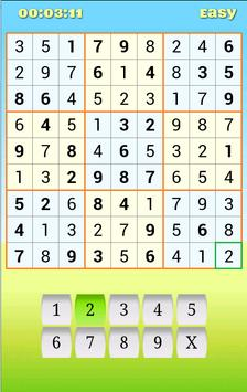 Sudoku Free Puzzles poster