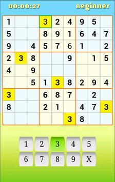 Sudoku Free apk screenshot
