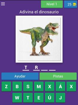 Nombres de dinosaurios screenshot 14