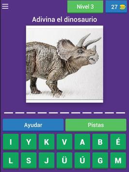 Nombres de dinosaurios screenshot 10