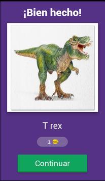 Nombres de dinosaurios screenshot 1
