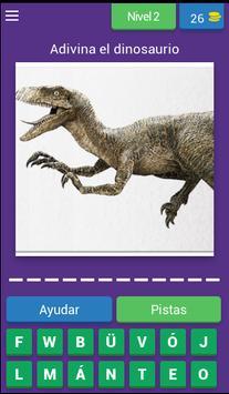 Nombres de dinosaurios screenshot 2
