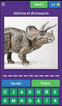 Nombres de dinosaurios screenshot 3