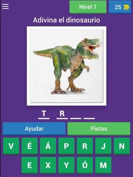 Nombres de dinosaurios screenshot 7