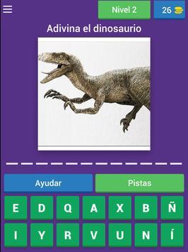 Nombres de dinosaurios screenshot 9