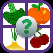 Aprende las frutas y verduras icon