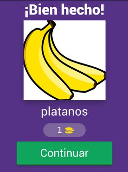 Aprende las frutas y verduras screenshot 15