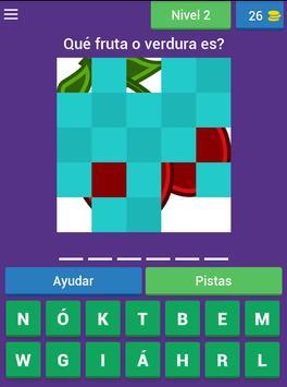 Aprende las frutas y verduras screenshot 16