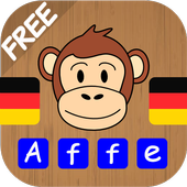 Kids learn German Words - practise to read, write icon