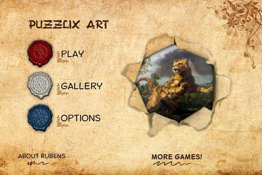 Puzzlix Rubens LITE poster