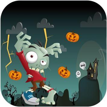 Halloween Zombie Run Terrible poster