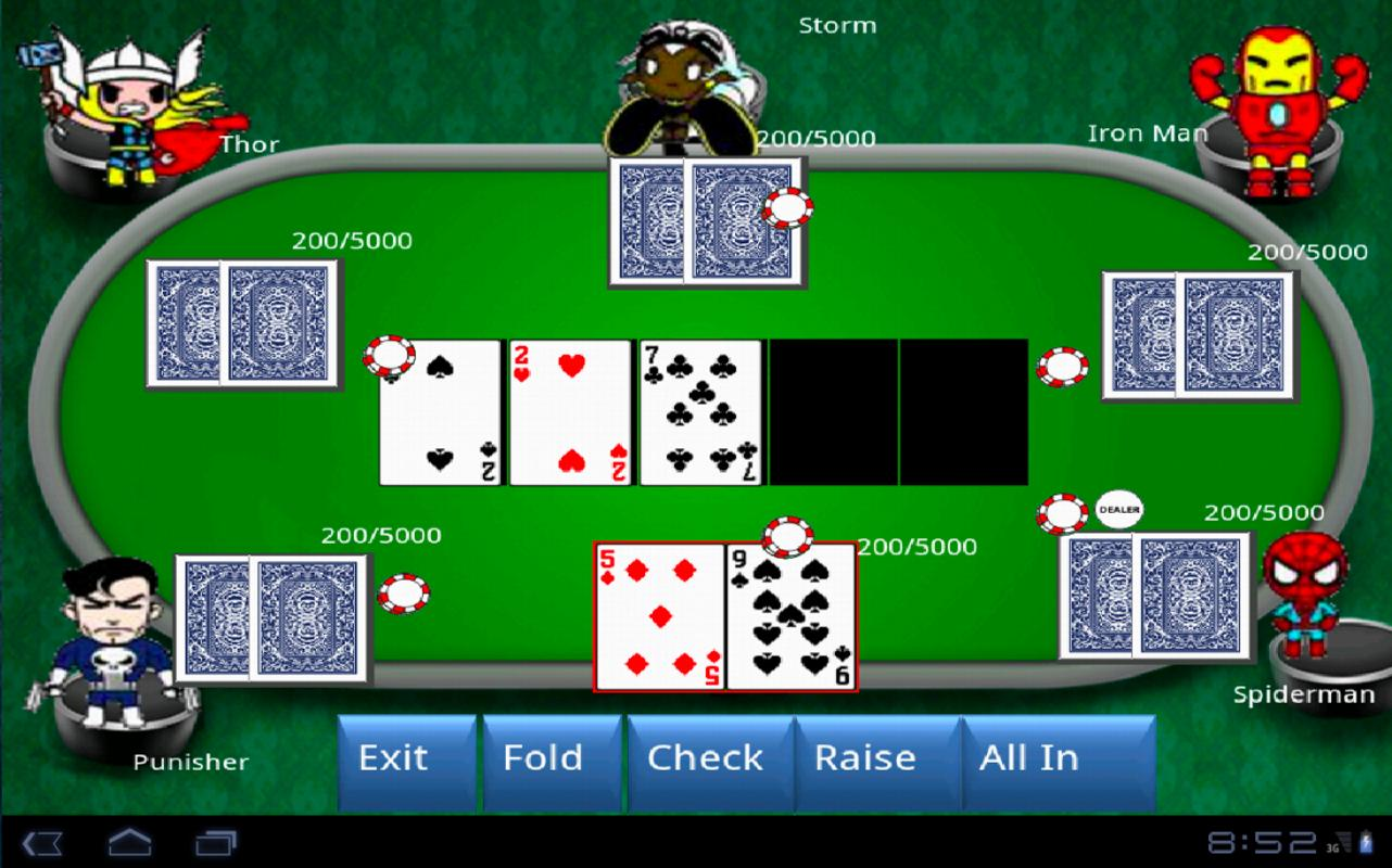 Poker Games Texas Holdem