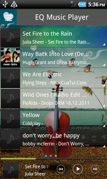 EQ Music Player screenshot 1