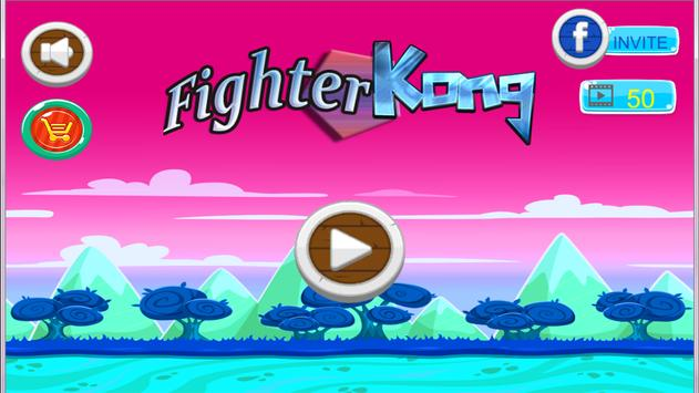 Fighter Kong - Great adventure Game to play now poster