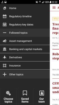 PwC's Regulatory Navigator screenshot 1