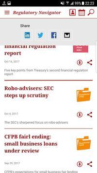PwC's Regulatory Navigator screenshot 5