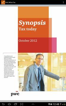 PwC Africa TAX screenshot 3