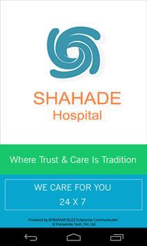 Shahade Hospital Sugarmate poster