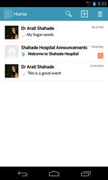 Shahade Hospital Sugarmate apk screenshot