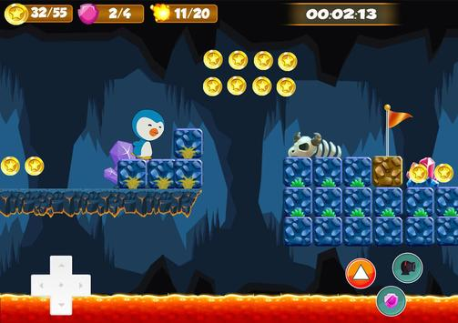 Little Penguin Word Adventure apk screenshot