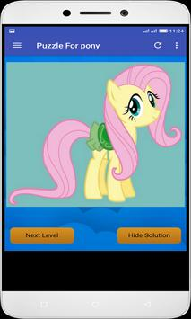 Puzzle For pony screenshot 7