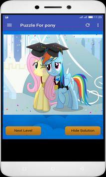 Puzzle For pony screenshot 1