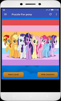 Puzzle For pony screenshot 3