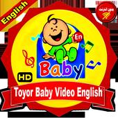 Toyor Baby English Video icon