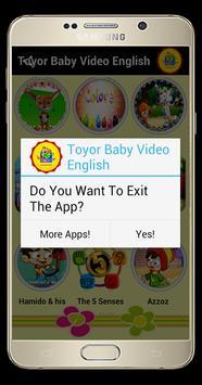 Toyor Baby English Video apk screenshot