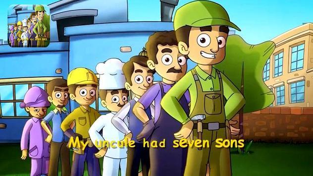 7 Sons English - Toyor Baby apk screenshot