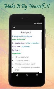 Chicken Recipes Guide apk screenshot