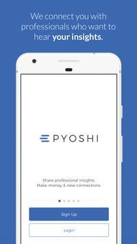 Pyoshi poster