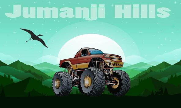 Jumanji 2 : Car Climb poster