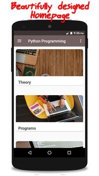 Python Programming poster