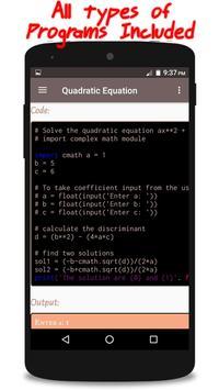 Python Programming screenshot 4