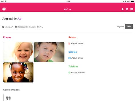 Kidjournal - Digital logbook for Childcare Centers screenshot 5