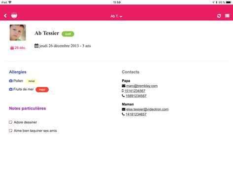 Kidjournal - Digital logbook for Childcare Centers screenshot 6