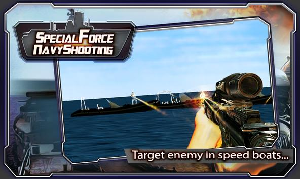 Navy Special Force Shooting poster