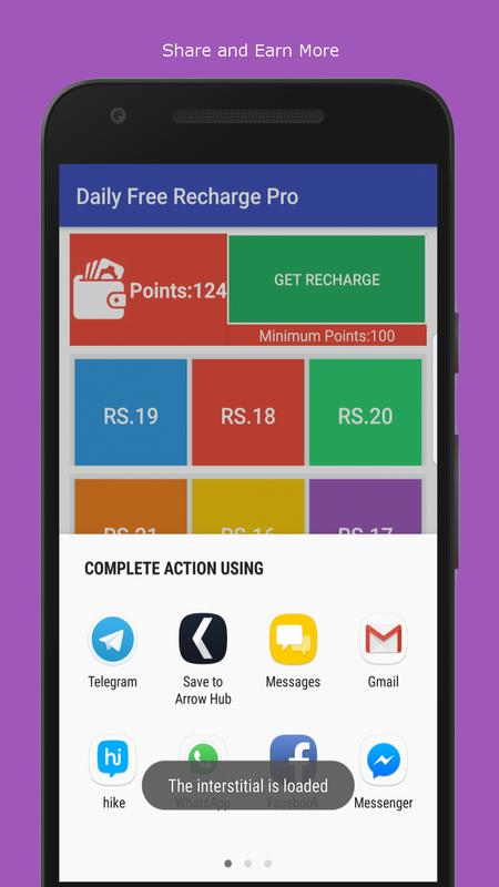 FREE mCent Free Recharge (New) for Android - APK Download Full