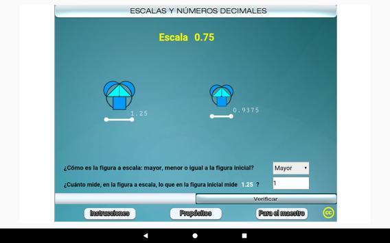 Escalas y números decimales Primero Secundaria screenshot 14
