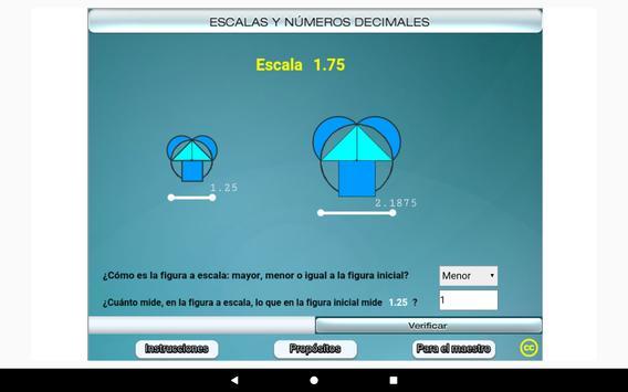 Escalas y números decimales Primero Secundaria screenshot 13