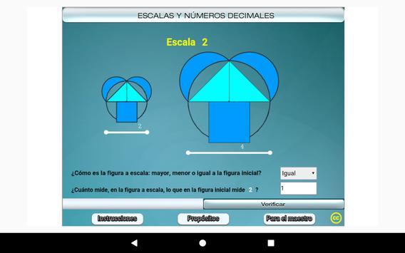 Escalas y números decimales Primero Secundaria screenshot 20