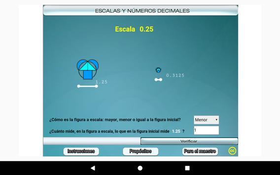 Escalas y números decimales Primero Secundaria screenshot 21