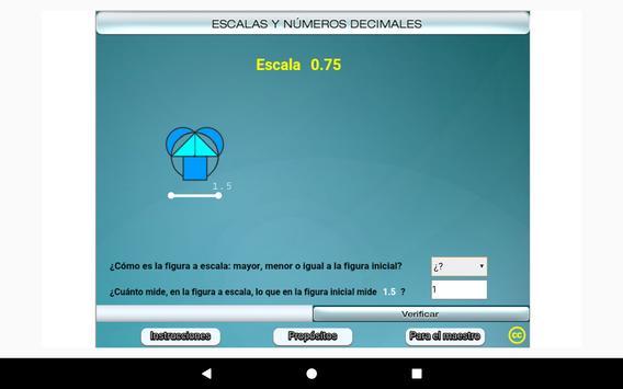 Escalas y números decimales Primero Secundaria screenshot 23