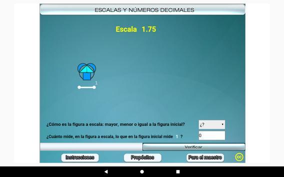 Escalas y números decimales Primero Secundaria screenshot 8