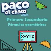 Fórmulas geométricas Primero Secundaria icon