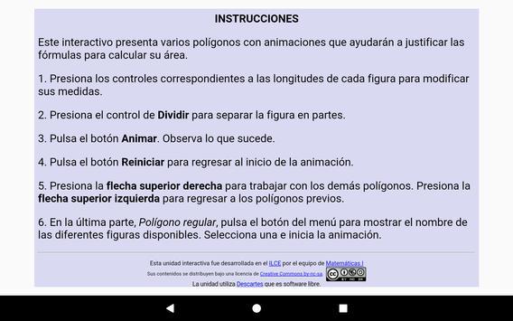 Fórmulas geométricas Primero Secundaria screenshot 17